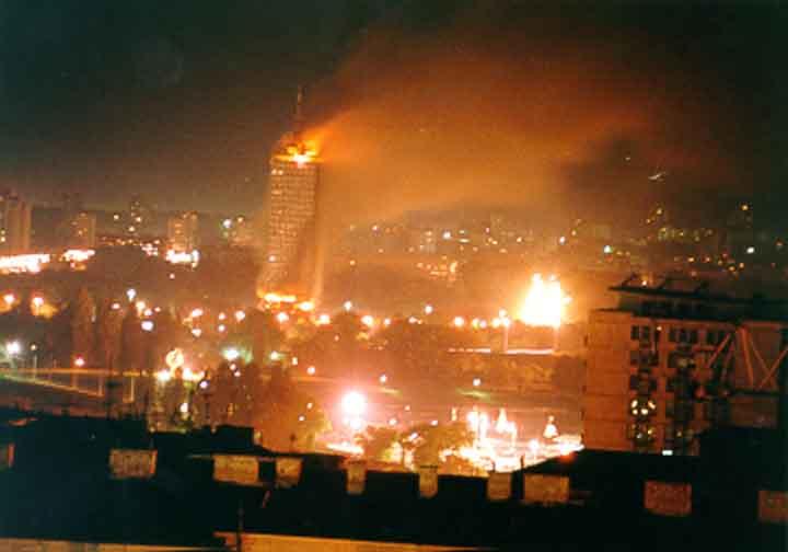 Serbia en llamas