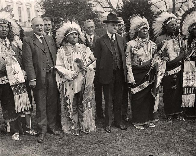 Coolidge-Indians-Calvin-With
