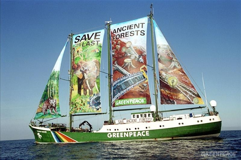 Greenpeace Ship Rainbow Warrior