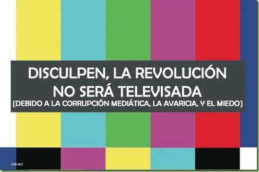 Revolucion no sera televisada