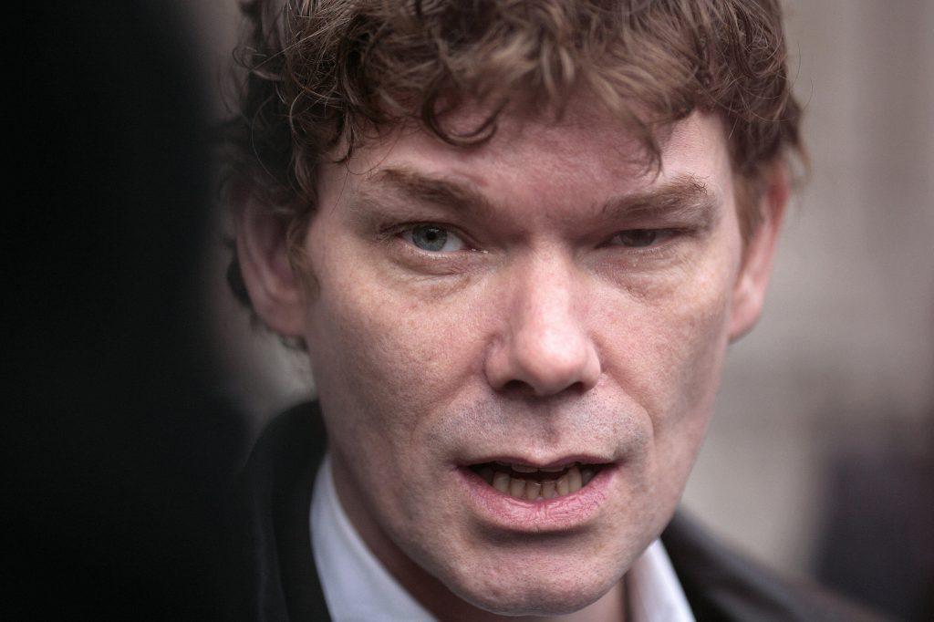 Briton Gary McKinnon in 2009.