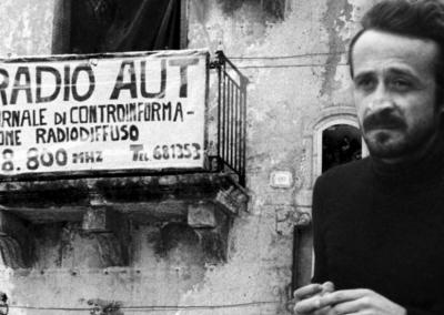 La primera manifestación contra la Mafia